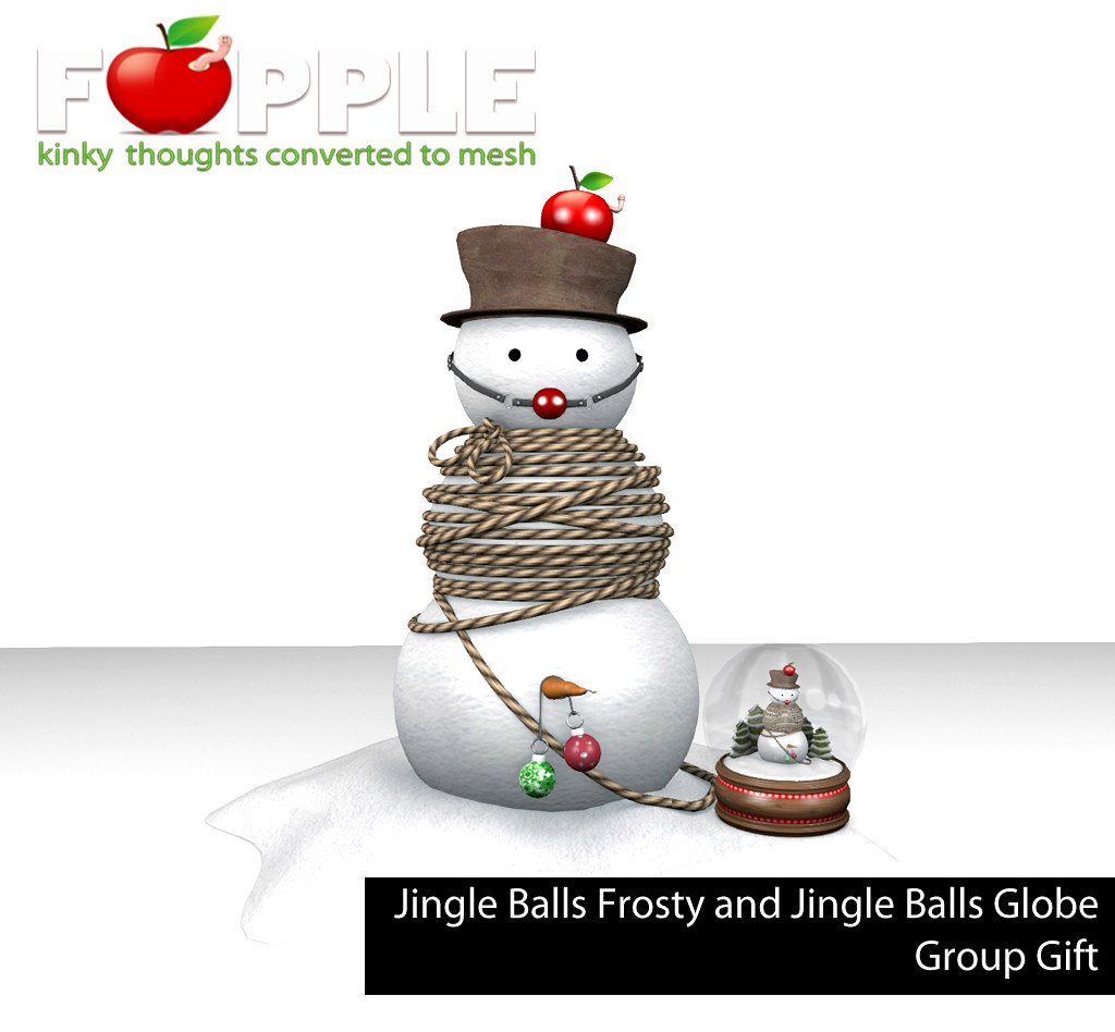 Fapple – Jingle Balls Frosty and Jingle Balls Globe Group Gifts!