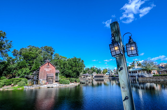 Harper's Mill and light, Nikon D7000, AF DX Fisheye-Nikkor 10.5mm f/2.8G ED