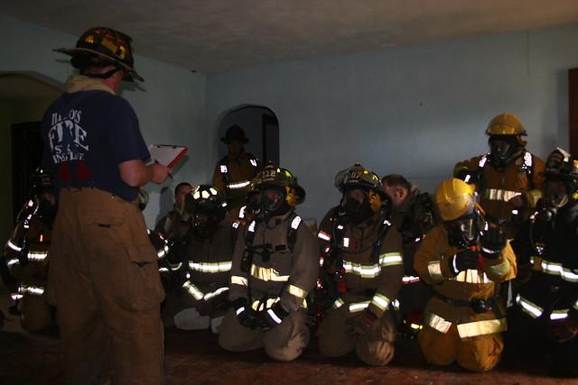 IFSI Herrick Training Burn