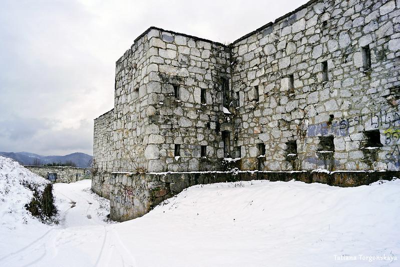 Основное здание Верхнего города