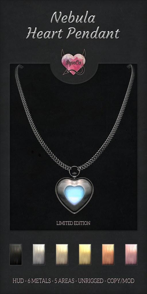 SynCo – Nebula Heart Pendant