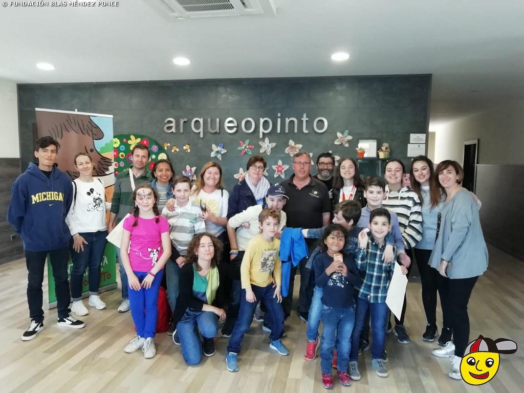 Arqueopinto 2019 - Actividad en familia