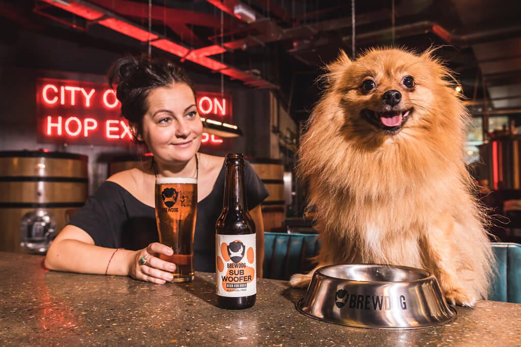 BrewDog выпустила Subwoofer IPA для собак