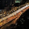 Traffic just like back home. Even 20 floors off the ground you can hear the ongoing car horns honking non-stop #beijing #china #chinatrip #traffic #trafficjam #eveningcommute