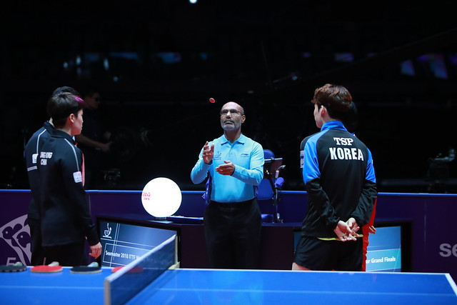 Day 3 - Seamaster 2018 ITTF World Tour Grand Finals