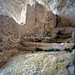 Civitella del Tronto (TE), 1999, Il fiume Salinello, le Gole del Salinello e l'eremo in grotta di Santa Maria Scalena.
