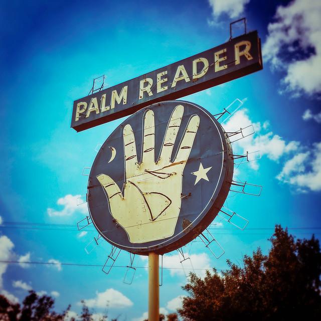 palm reader. fowler, ca. 2016.