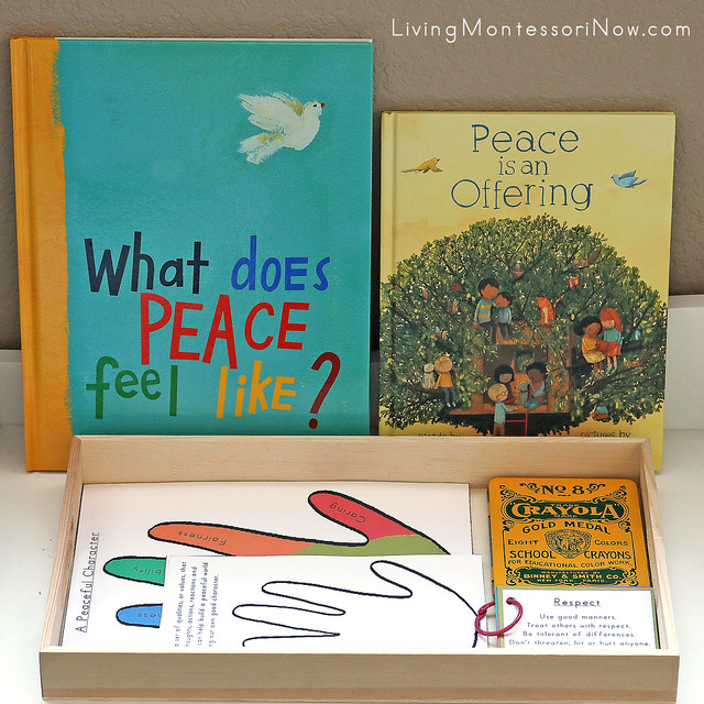 Peace Books and Peaceful Character Work