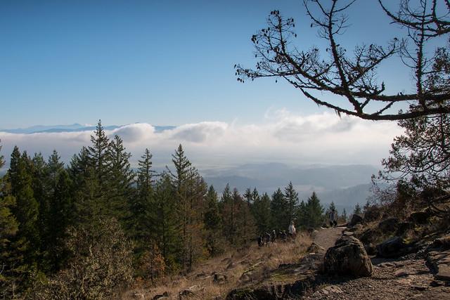 Hiking Spencer Butte