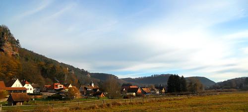 Obersteinbach un dimanche matin d'Automne