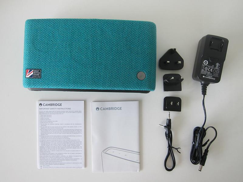 Cambridge Audio Yoyo (S) - Box Contents