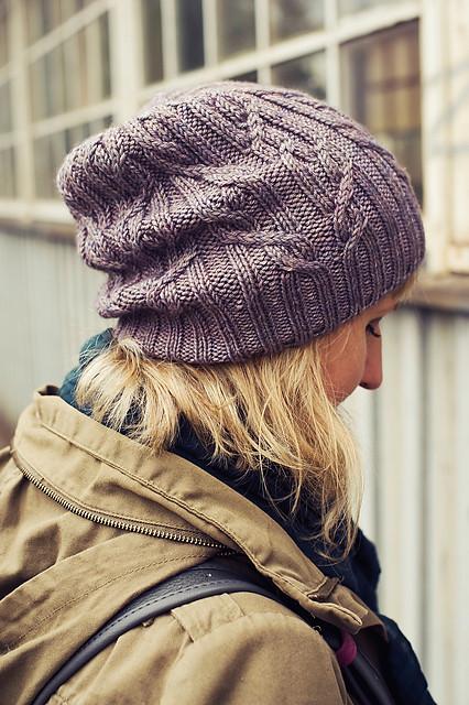 Tied Knots Hat by Justyna Lorkowska