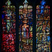 Leicester Cathedral, Richard III window detail