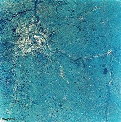 View of Minneapolis-St.Paul, Minnesota area. Original from NASA. Digitally enhanced by rawpixel.