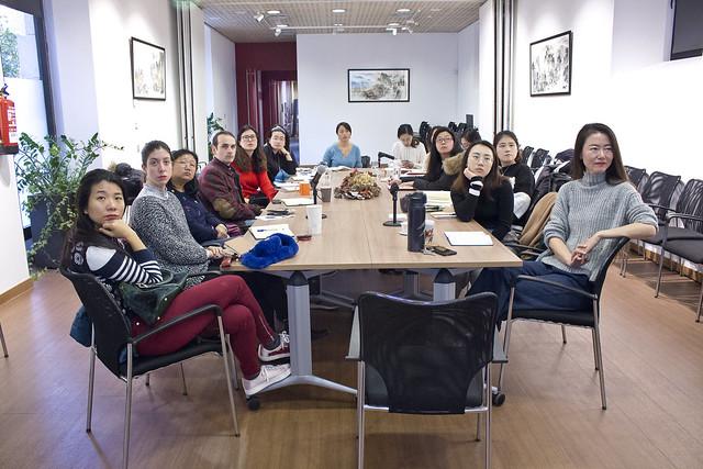 巴塞孔院举办中高级汉语教学重难点研讨会