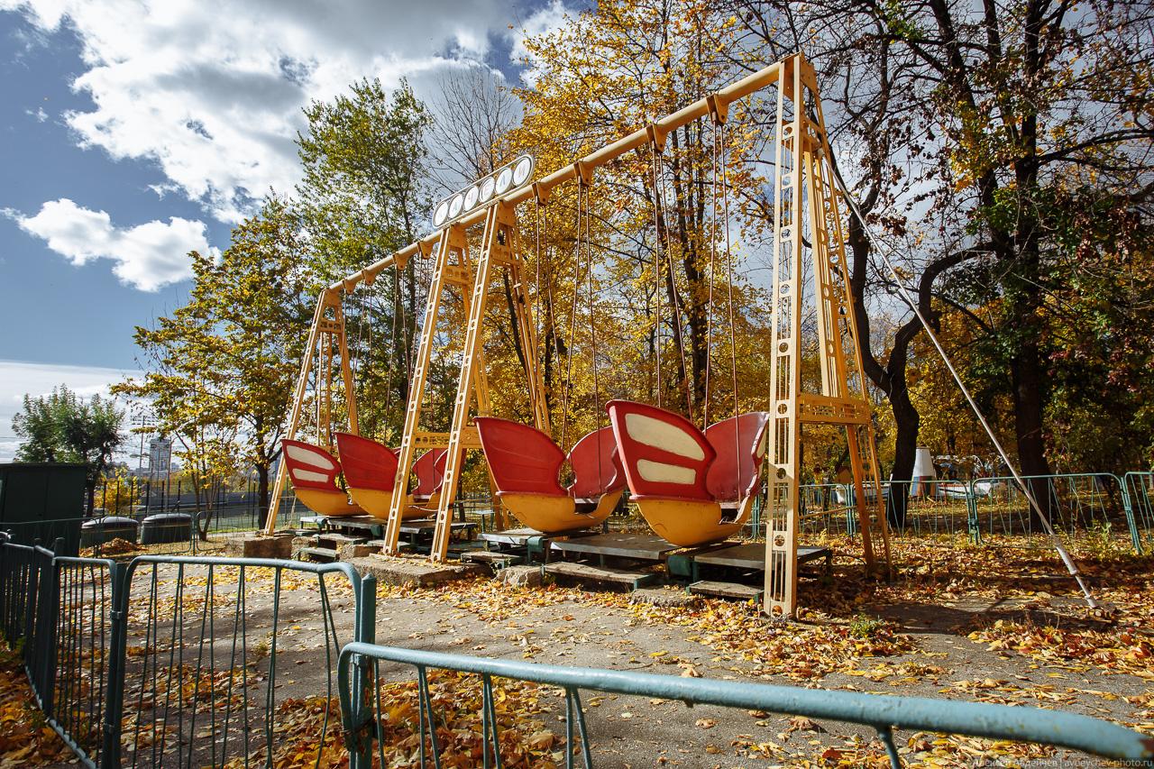 Загородный парк (Самара). Осень, 2018