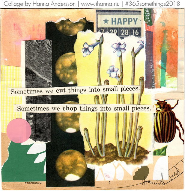 The Collage Bug - Collage no 362 by iHanna