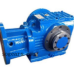 SHF series Worm Reduction Gearbox with IEC Flange