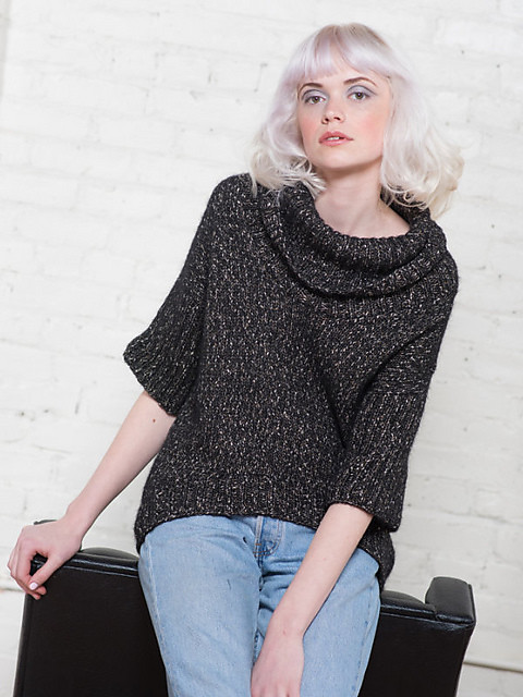 Callie by the Berroco Design Team - knit using Berroco Brielle