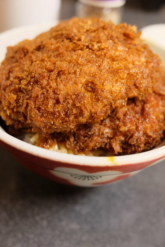 Yasudaya-waraji-katsudon デカい!美味い!安田屋 日野田店 に行ってきた。