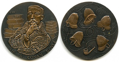 978 Arthur Conan Doyle Medal by the Monnaie de Paris