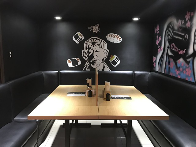 Ohayo Japansese restaurant table