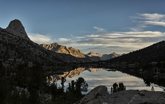 Rae Lakes Morning Mood