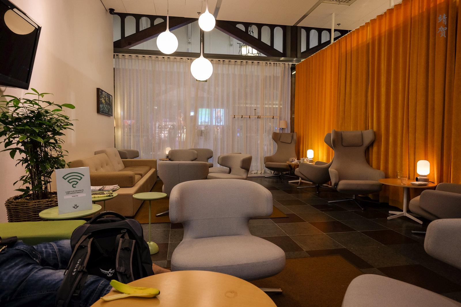 SJ lounge