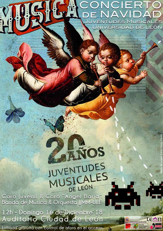 CONCIERTO DE NAVIDAD 2018 - JUVENTUDES MUSICALES_UNIVERSIDAD DE LEÓN - AUDITORIO CIUDAD DE LEÓN 16.12.18