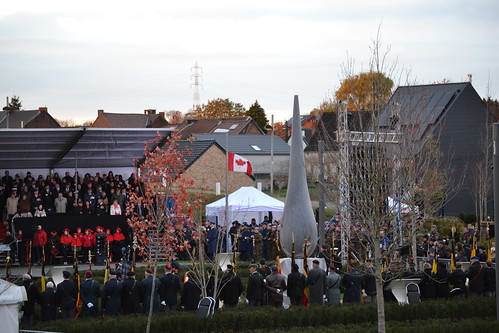 Commemorative Ceremony for Private George Lawrence Price.
