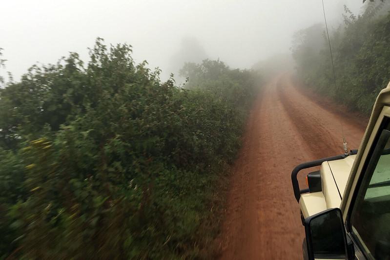 Departing Ngorongoro
