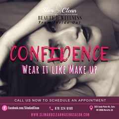Confidence, Wear it like Makeup..