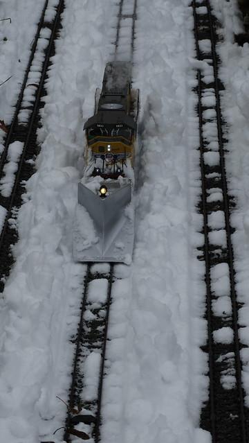Schneeschieben am 16.12.18