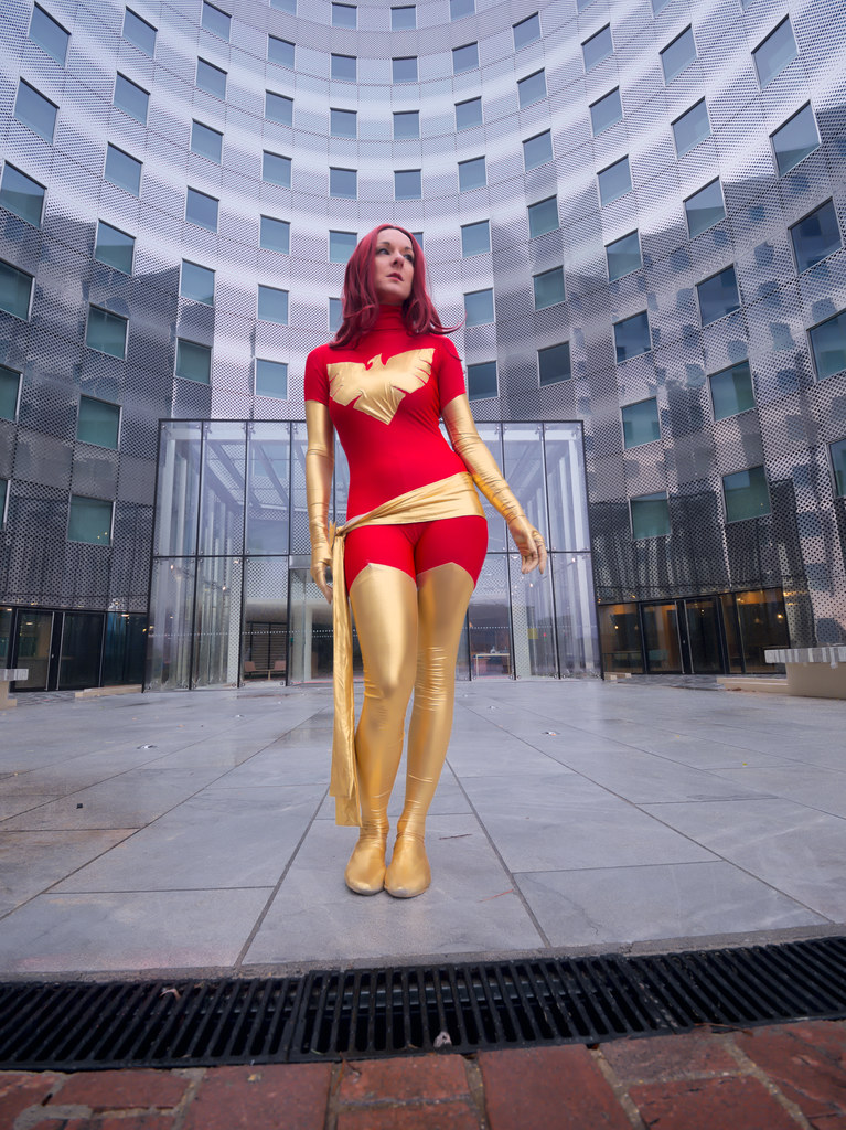 related image - Shooting Dark Phoenix - Durden - La Défense -2018-12-16- P1444492