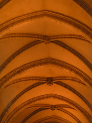 20080516 23616 0906 Jakobus Montbrison Kirche Gewölbe - Photo of Chalain-d'Uzore