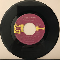 DENNIS EDWARDS:DON'T LOOK ANY FURTHER(RECORD SIDE-B)