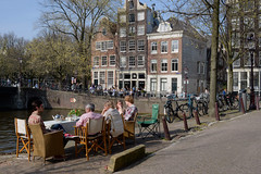 Early Spring, Herengracht (view on Brouwersgracht), Amsterdam 2014