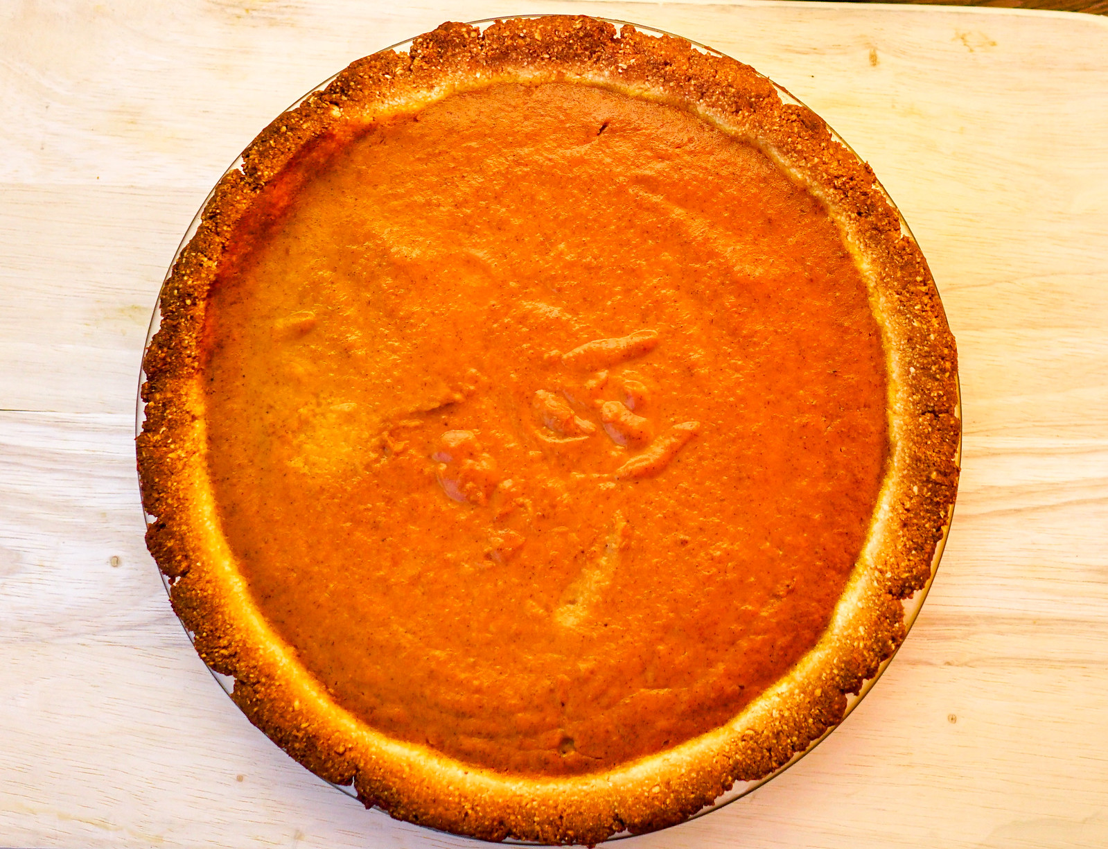 2018.11.05 CGM and Low-Carbohydrate Pumpkin Pie, Washington, DC USA 07691