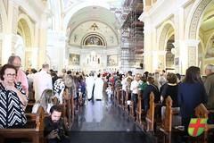 Alunos do colégio recebem a Primeira Eucaristia