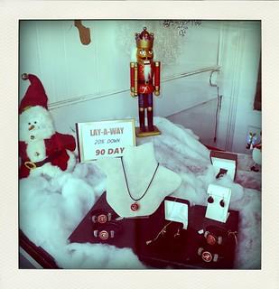 Jewelry Store Window display