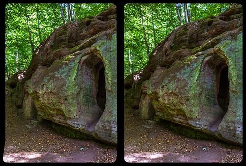 Daneilshöhle 3-D / CrossView / Stereoscopy / HDRi