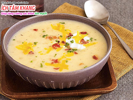 Cháo, súp giúp giảm khó tiêu, đầy trướng ở người bệnh suy tim