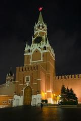 XE3F4642 - Torre Spásskaya, Plaza Roja, Moscú - Spasskaya Tower, Red Square , Moscow - Спа́сская башня, Москва