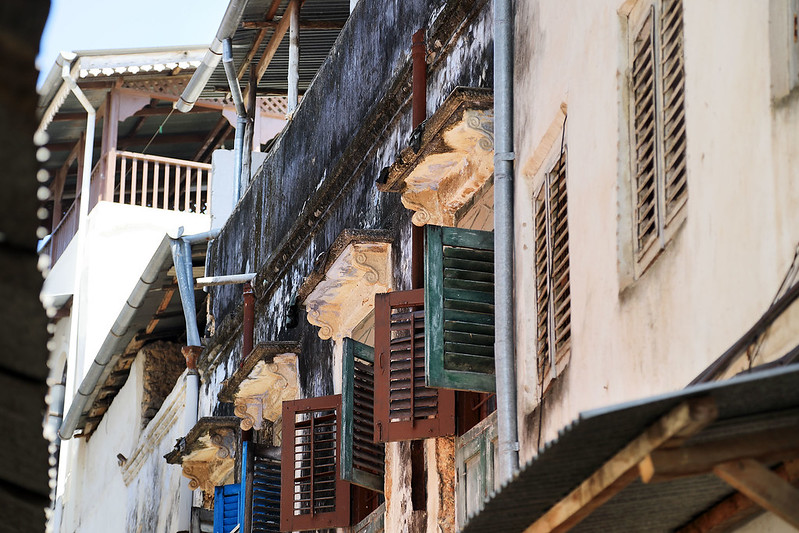Stone Town shutters