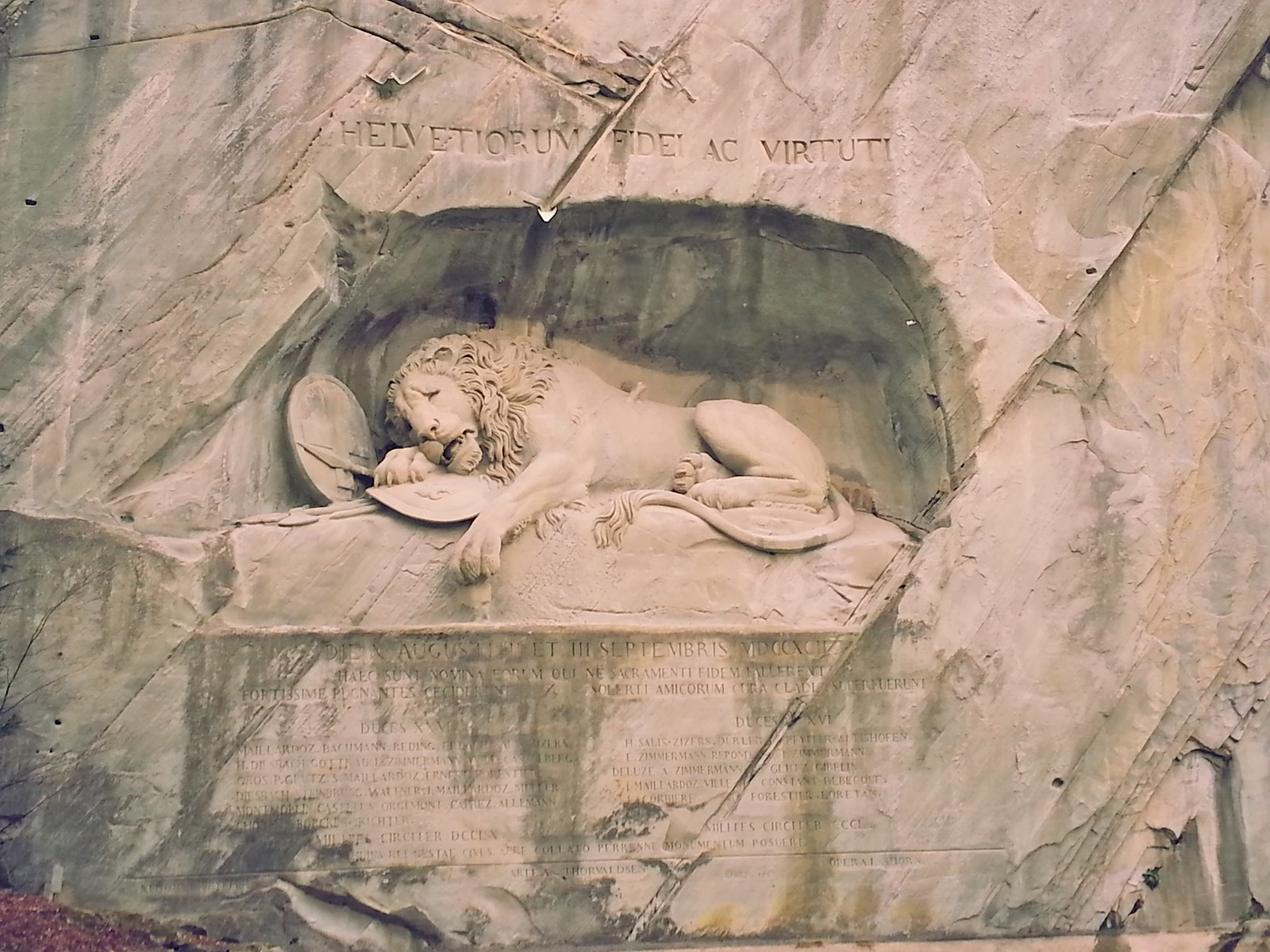 16-01-30 (Lucerne) Lion Memorial.