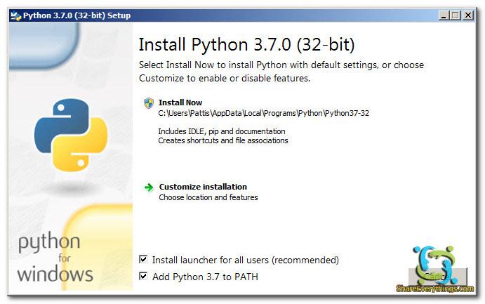 Hướng dẫn cài đặt môi trường lập trình Python