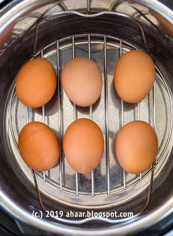 Instant pot boiled-eggs