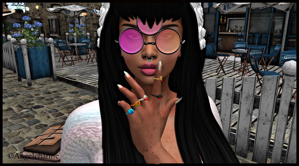 Tooty Fruity - Hippy Glasses // Flaunt Event