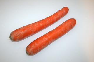 11 - Zutat Möhren / Ingredient carrots