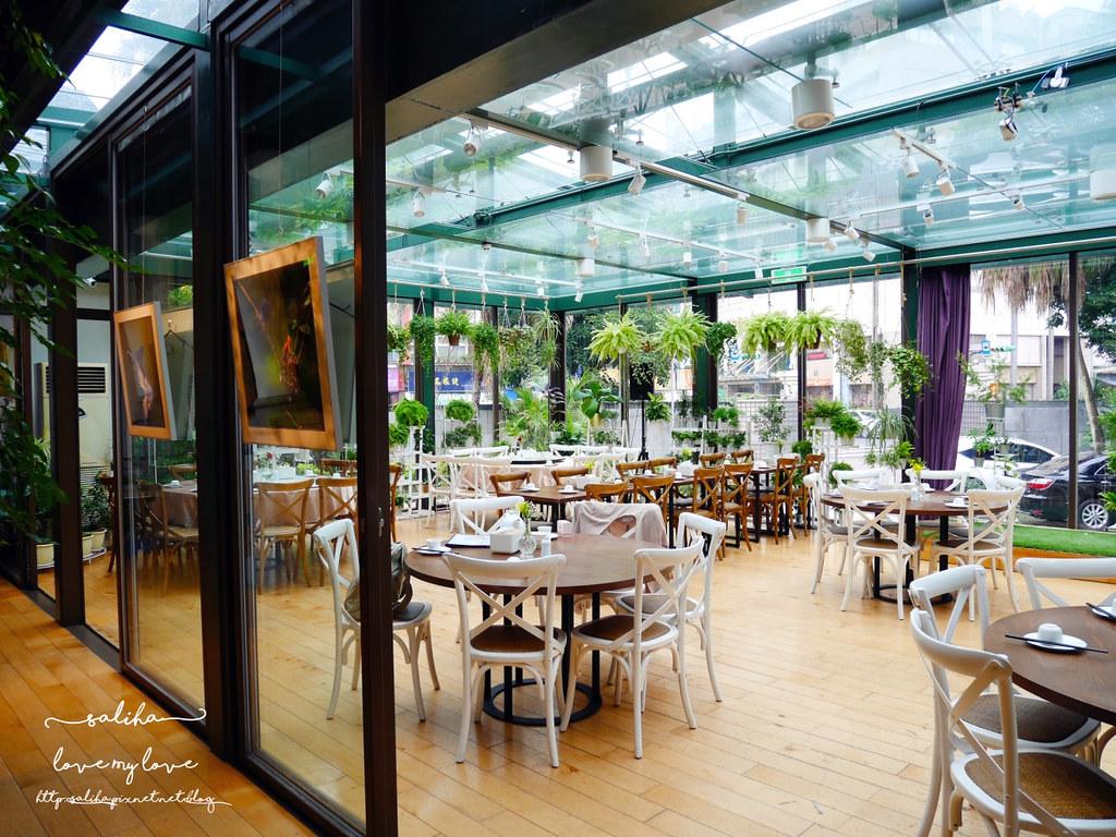 台北古亭站附近絕美玻璃屋植物系浪漫約會餐廳推薦陸聯廳 (6)